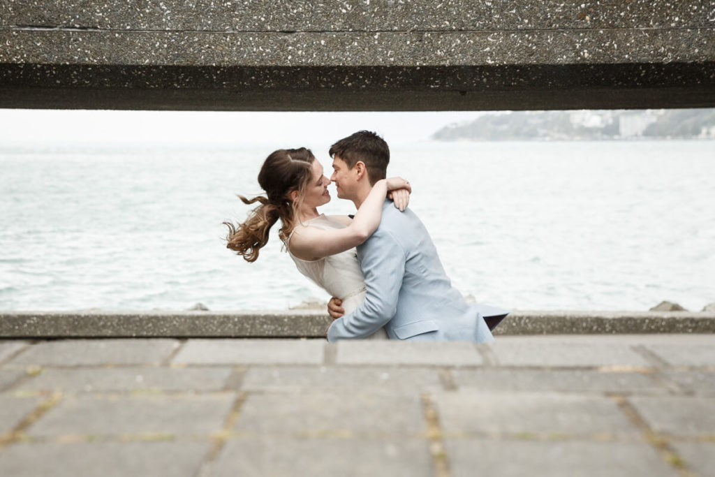 wellington wedding waterfront